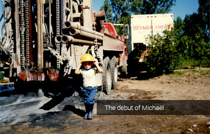 The debut of Michaël