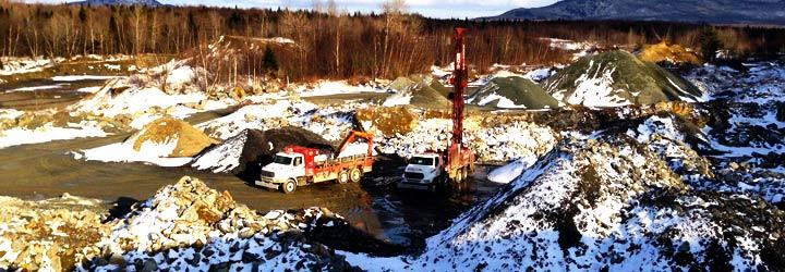 Mining driliing