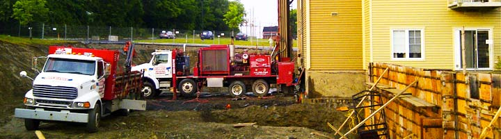 Foundation and anchor piles