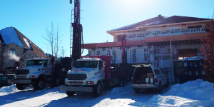 Well drilling in Saint-Sauveur