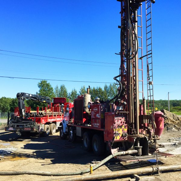 Geothermal Drilling In Matane 25 Unit Residential