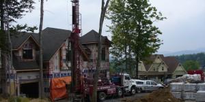 Forage géothermique à Beauport