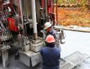 Forage de puits artésien à Thetford Mines