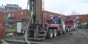 Forage geothermique à Montréal