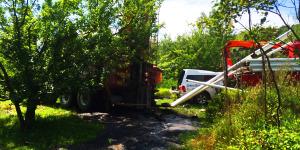 Forage d'un puits et installation de pompe à Charlevoix