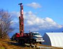 Forage d'un puits artésien à St-George en Beauce