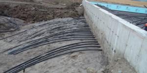 Tuyaux projet géothermie