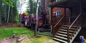 Forage géothermique à Rimouski